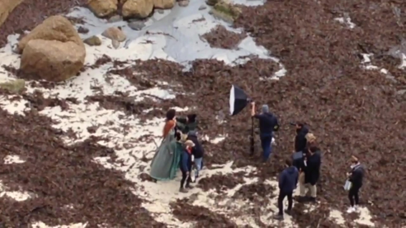 Filming Poldark S4 - AT ET spotted on Sept.22