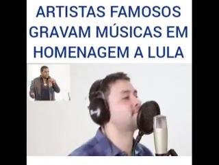 homenagem ao Lula.