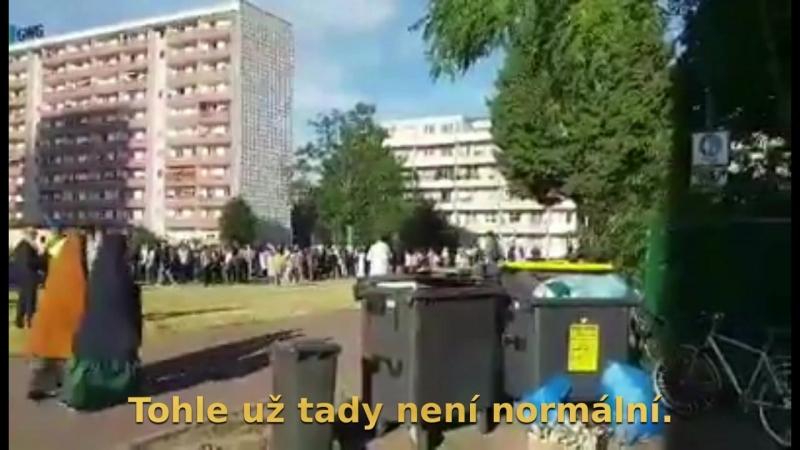 Multikulturní obohacení v německém Halle