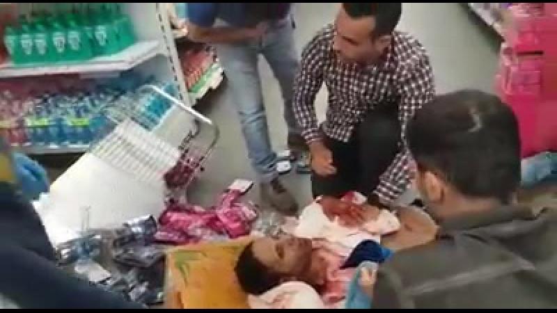 2017-08-02 IL, Jawne: Mitarbeiter eines Supermarktes von Palästinenser nieder gemetzelt