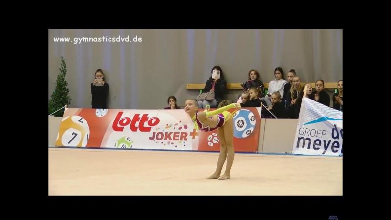 Николь Савина Скакалка - Happy Cup Ghent 2017