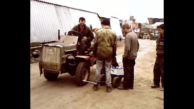 Мини Т-150К. ДВС от