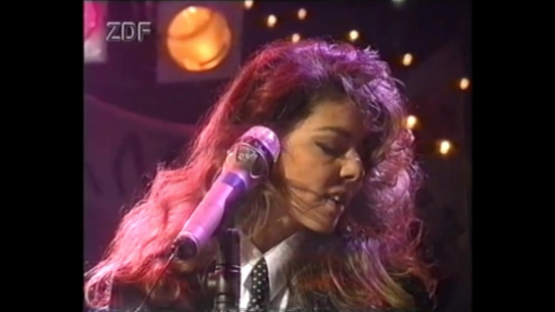 Sandra - Don't Be Aggressive, Johnny Wanna Live /Peters Pop Show, 1992/MTW