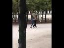 Изабель и Кевин на прогулке в Париже, 9 октября