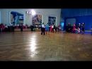 клубные соревнования по спортивным бальным танцам, Сергей и Тая.
