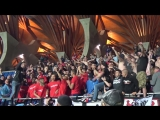 Ultras and players  Videoton - Ferencvr