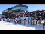 12 марта 2017 трибуны на XXII чемпионате мира по лыжному ориентированию в Красноярске эстафета женщины