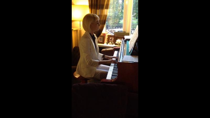 7.07.2017 Анна Каика, рояль