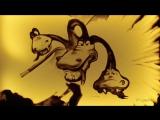Самовар.Шуточное видео-поздравление в технике песочной анимации.
