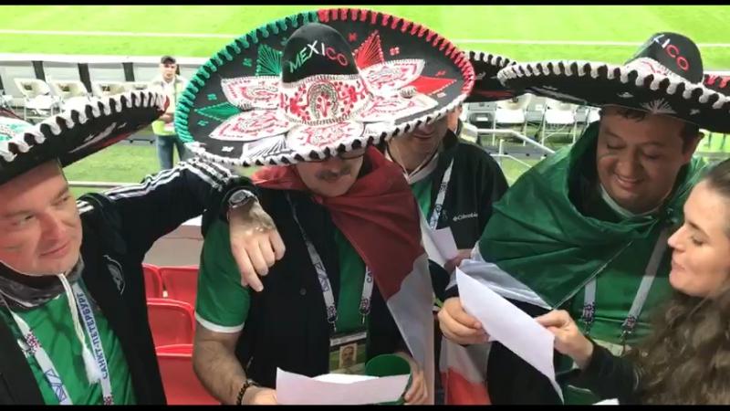Мексиканцы поют