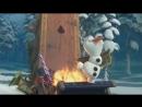 Крижане серце: Різдво з Олафом/Холодные приключения Олафа русский трейлер/Olaf's Frozen Adventure(Озвучила Айла)