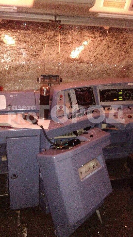 поезд протаранил автобус во владимирской области