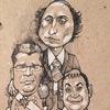 Карикатурист Камиль Бузыкаев