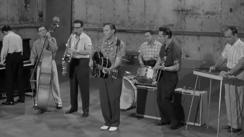 1956 Bill Haley and his Comets perform