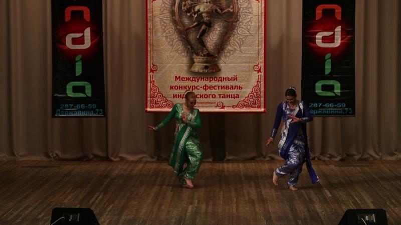 Aplam Chaplam (Azaad) - Васанта 2017 - Новосибирск InDiDance Федотова Юлиана болливуд индия