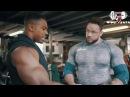 Симеон Панда и Шон Геркулес Паркер. Тренировка груди. Жим гантелей по 100 кг!