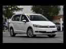 2018 Volkswagen Touran L. Удлиненная версия обновленного минивэна Фольксваген Туран.