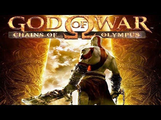 Игрофильм Бог войны Цепи Олимпа god of war chains of olympus PS3