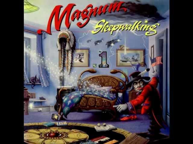 MAGNUM - ALBUM - SLEEPWALKING (1992)