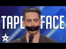 Tape Face Auditions Performances America's Got Talent 2016 Finalist