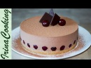 ШОКОЛАДНЫЙ ТОРТ С ВИШНЕЙ без выпечки CHOCOLATE CAKE WITH CHERRY WITHOUT BAKING