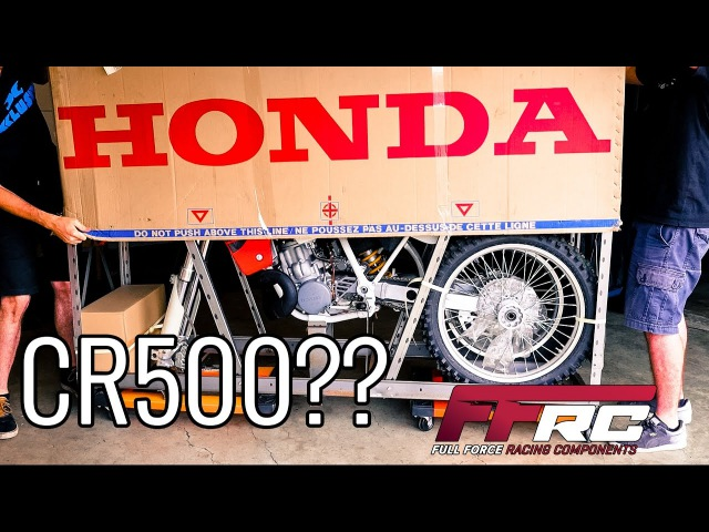 Unboxing a brand new 2001 Honda CR500. It is still in its crate after 15 years. MX