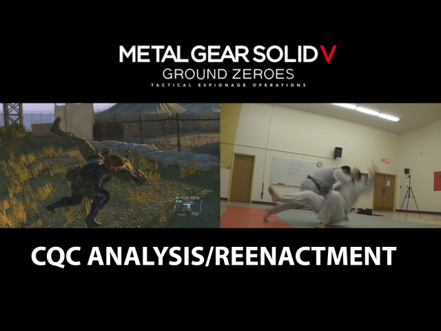 Metal Gear Solid 5: Ground Zeroes / Osoto Otoshi (Throw technique)