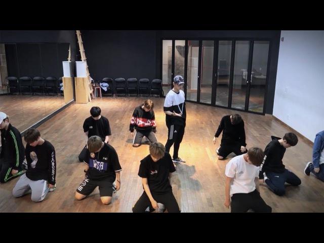 Wanna One (워너원) - 활활 (Burn It Up) Dance Practice (Mirrored)