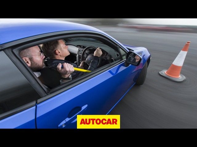 Will it Drift? Subaru BRZ - Can two guys drift one car? | Autocar