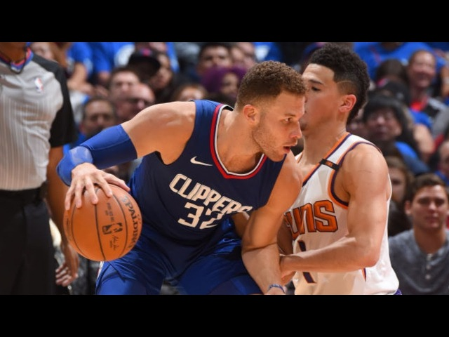 Обзор НБА Лос-Анджелес Клипперс – Финикс Санз 22.10.17