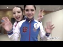 NHK 2017 - skaters were posing in front of the Domo-kun Cam