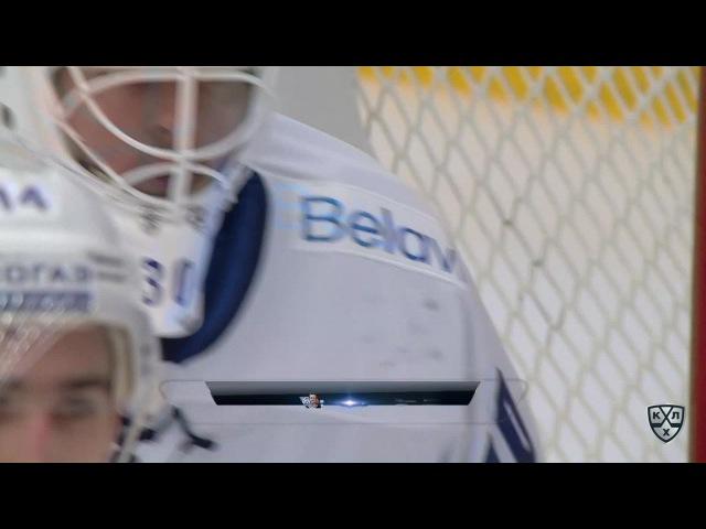 КХЛ (Континентальная хоккейная лига) - Моменты из матчей КХЛ сезона 16/17 - Удаление. Дмитрий Знахар