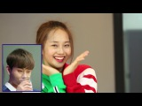 170524 Junhyung's reaction to Kriesha Chu 'Plz Don't Be Sad' Cover Dance