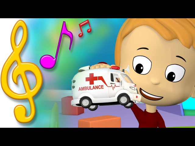 TuTiTu Songs | Ambulance Song | Songs for Children with Lyrics