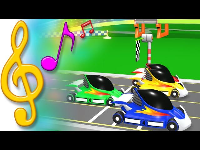TuTiTu Songs   Race Cars Song   Songs for Children with Lyrics