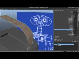 Tutorial Recreating Pixar's Wall-e in High Poly using Maya 2012 Part 1-4
