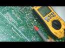 ремонт тв vestel vr2106tf шасси 11AK30A11 изготовление составного транзистора