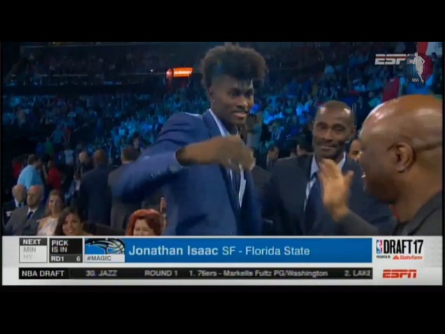 Jonathan Isaac NBA Draft 2017 Pick 6 Round 1 (ORL) | NBA Draft |