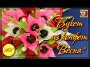 Букет из конфет Весна своими руками, тюльпаны, DIY, мастер класс