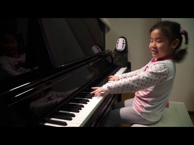 Anke Chen_Age 5_Plays J.S.Bach Prelude No.6 in D Minor, BWV 875
