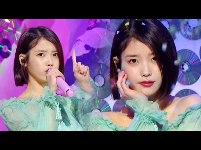 《DEBUTE》 IU (아이유) - Palette (팔레트) @인기가요 Inkigayo 04.12.2017