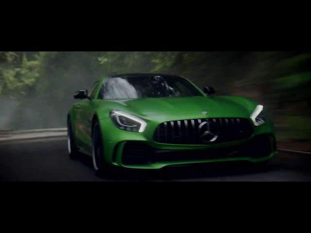 Beast of the Green Hell׃ The Mercedes AMG GT R. Официальное видео Мерседес. Зверь в зеленом аду.