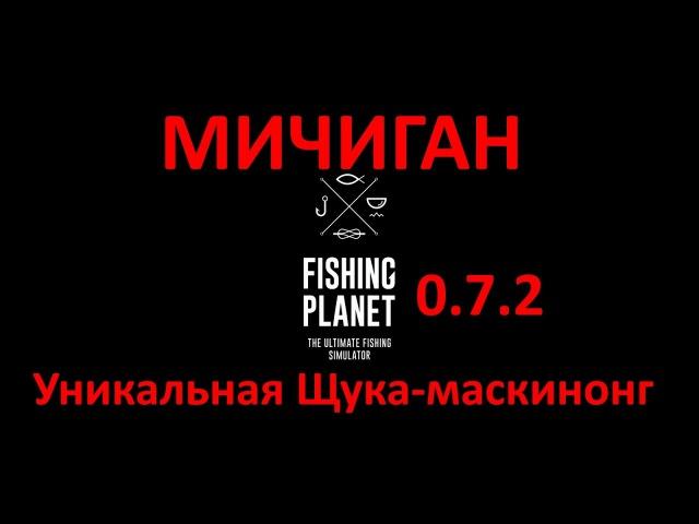 Fishing Planet(0.7.2) - Уникальная щука-маскинонг(Мичиган)