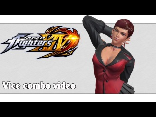 KoF XIV: Vice combo video (ver. 1.03-1.05)