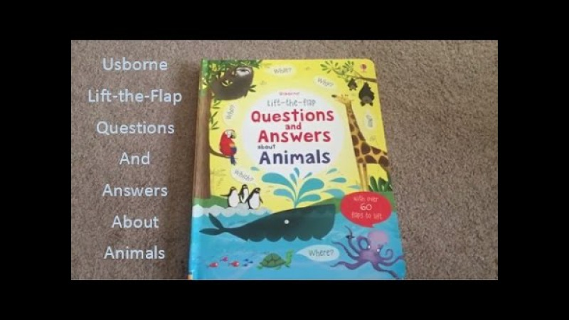 USBORNE READING CORNER | Lift-the-Flap Questions and Answers about Animals