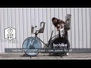 Велокресло переднее Bobike One Mini, крепление на руль, цвет белый