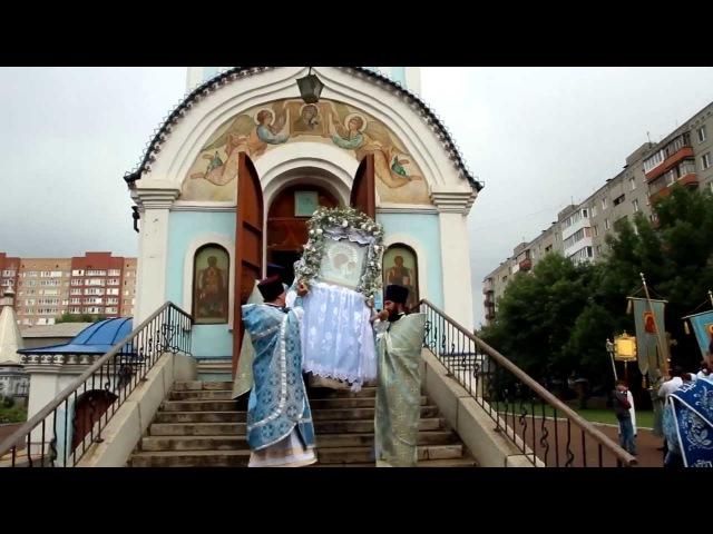 Архиерейское богослужение в день Богородско Уфимской иконы Богородицы