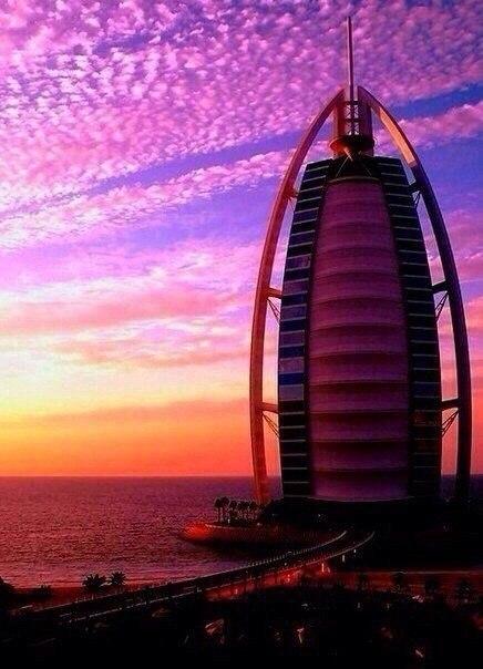 Прекрасный Дубаи.