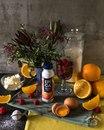 Апельсиновые капкейки с малиновым джемом