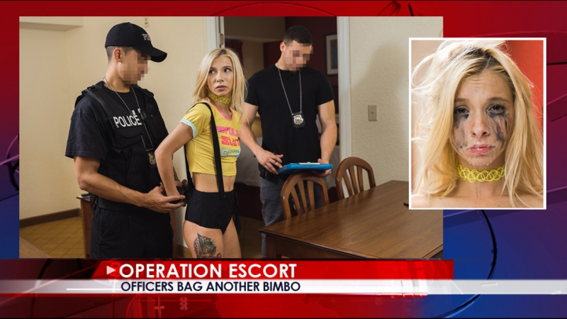 #PRon Kenzie Reeves - Officers Bag Another Bimbo [2017 г., IR, All sex, Domination, 1080p]